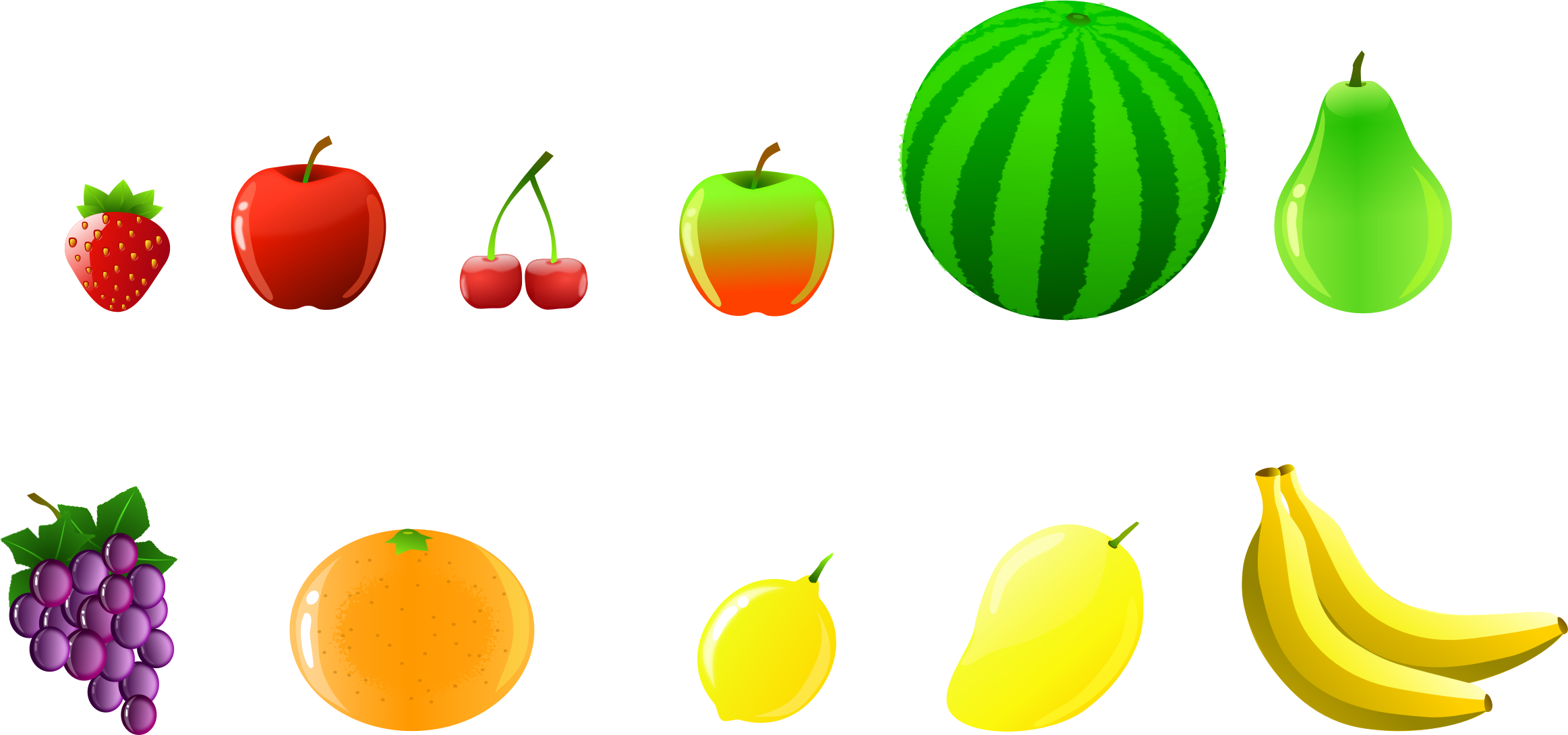 Fruits clipart local fruit. Collection big image png