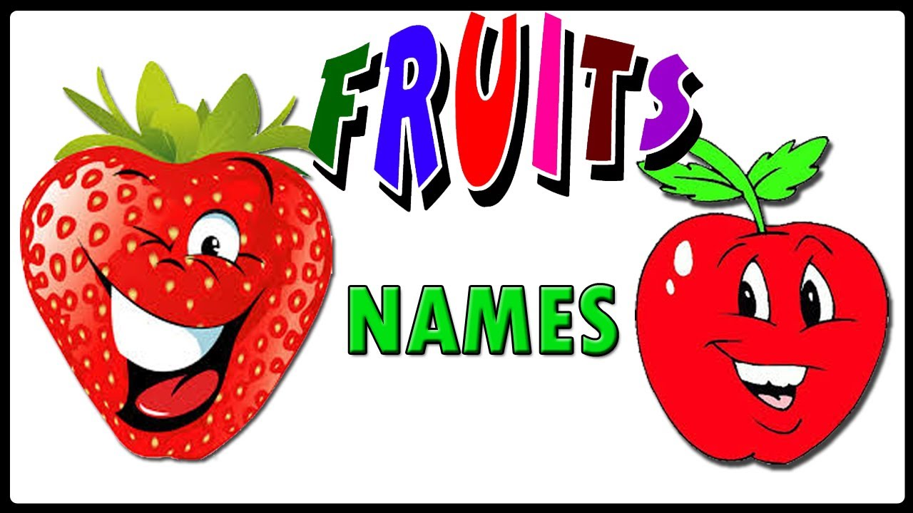 Fruits clipart name. Vegetables pictures and names