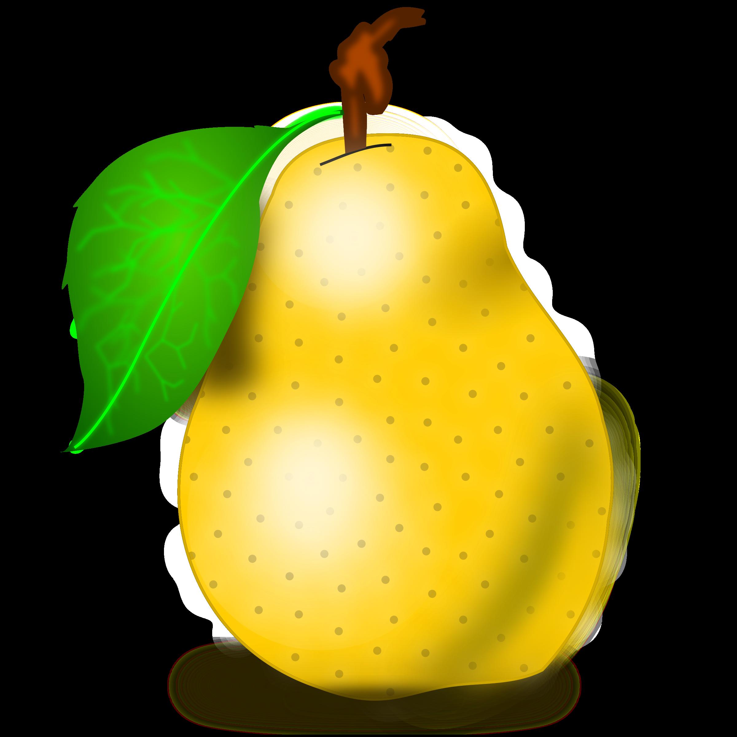 . Pear clipart pear fruit