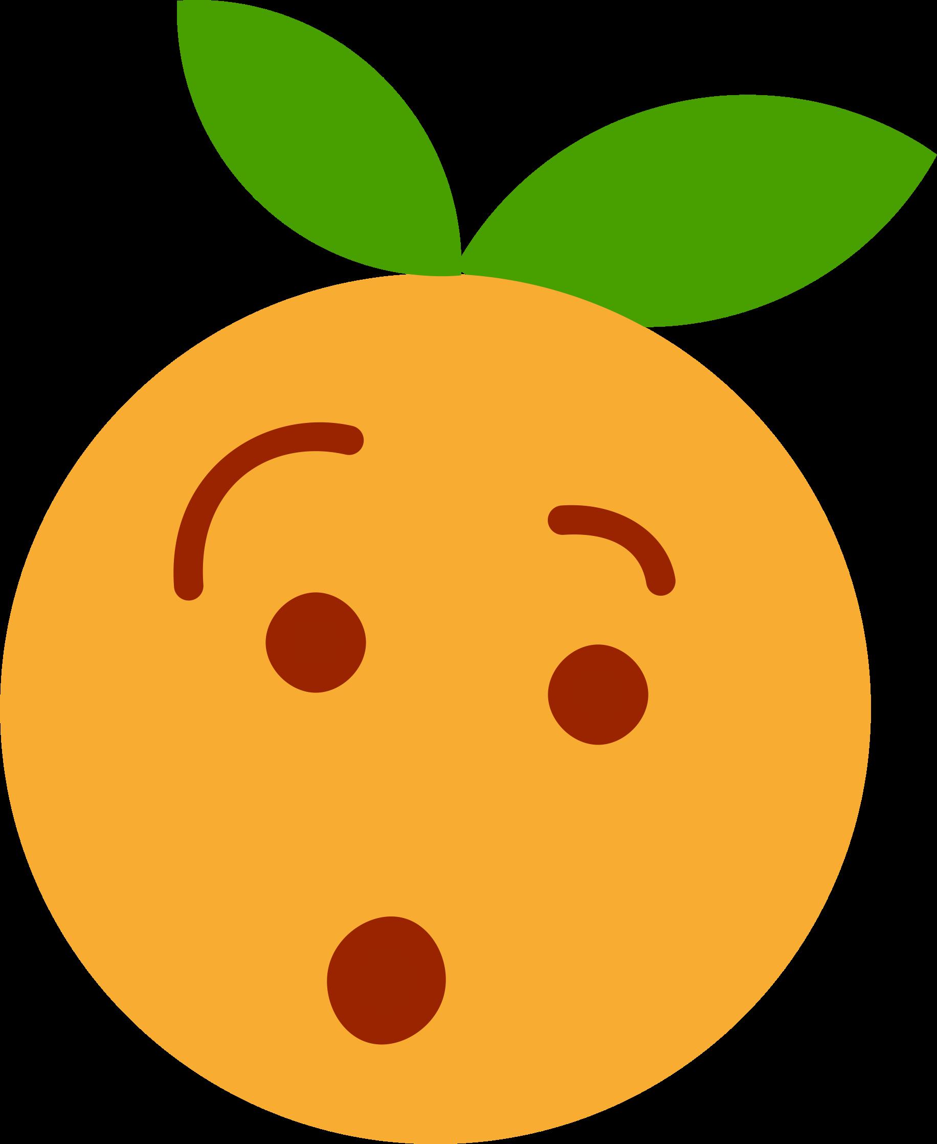Fruit clipart smiley. Clem euh big image