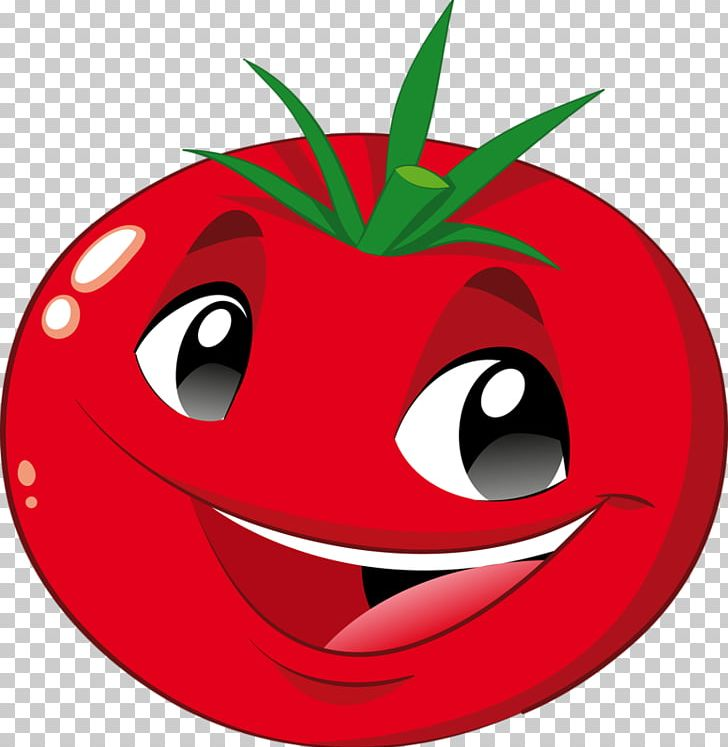 Fruit clipart smiley. Vegetable tomato png apple