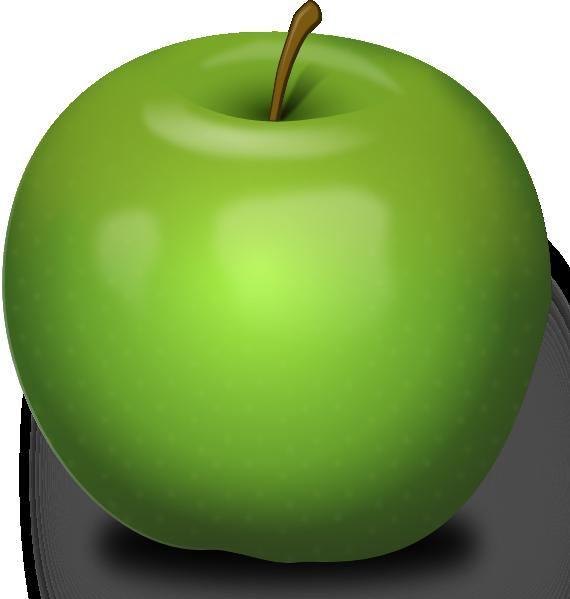 Fruit clipart star apple. Photorealistic green clip art