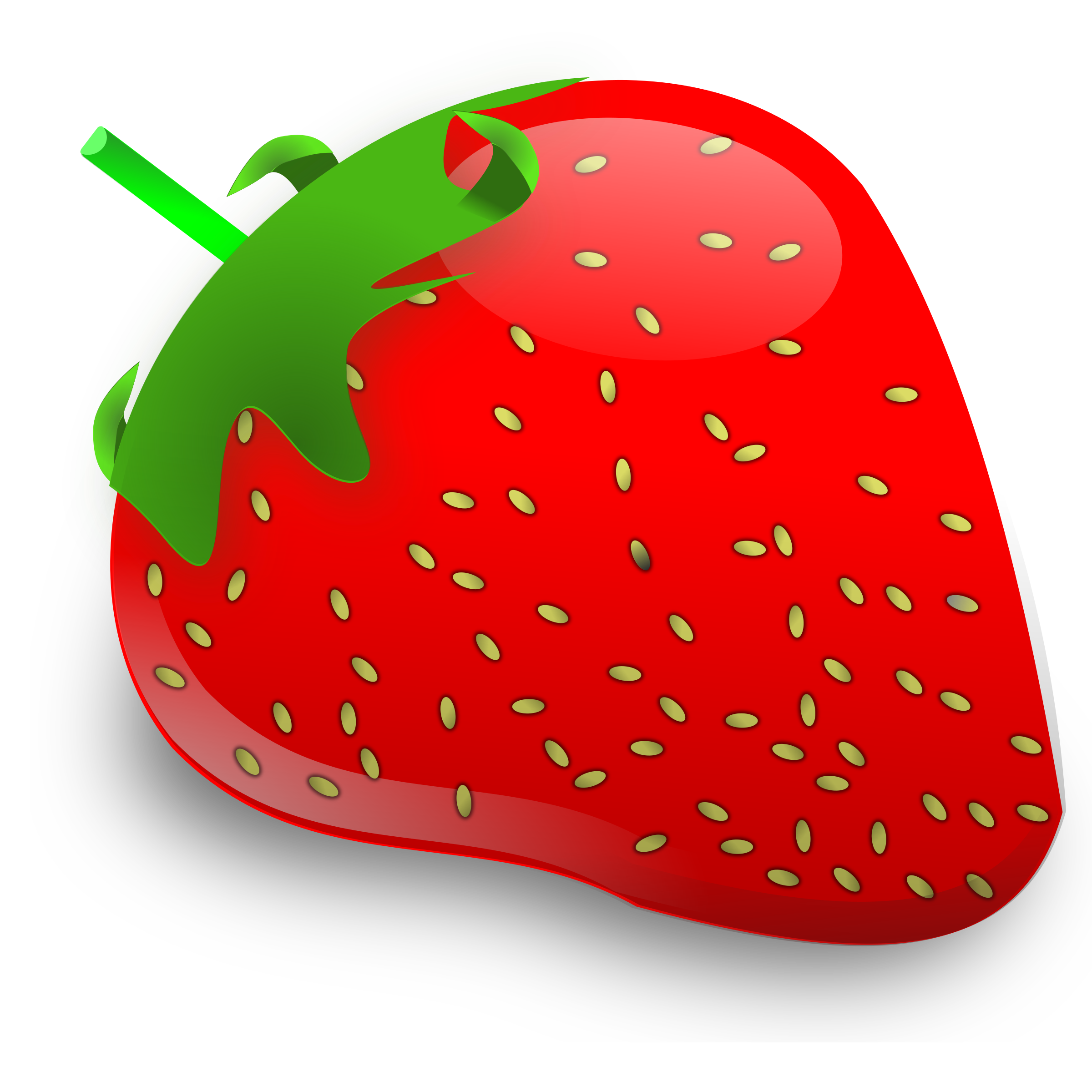 . Fruit clipart strawberry
