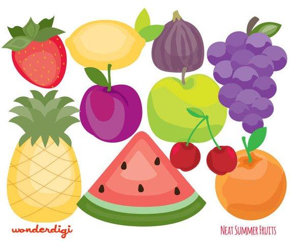 Portal . Fruit clipart summer season