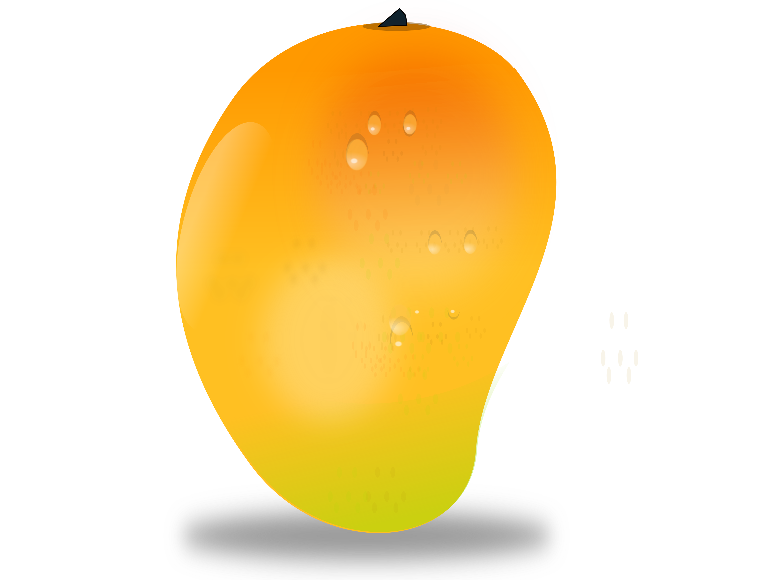 mango clipart different fruit #126517983