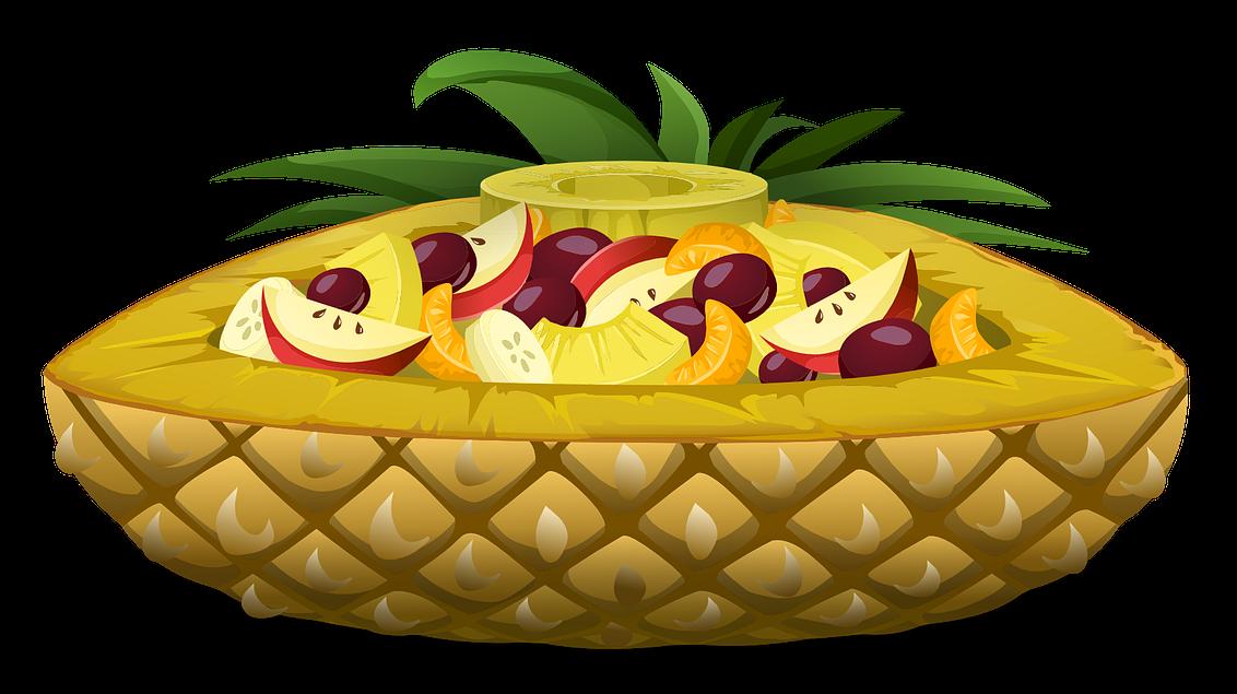 Salad jokingart com free. Fruit clipart tropical fruit