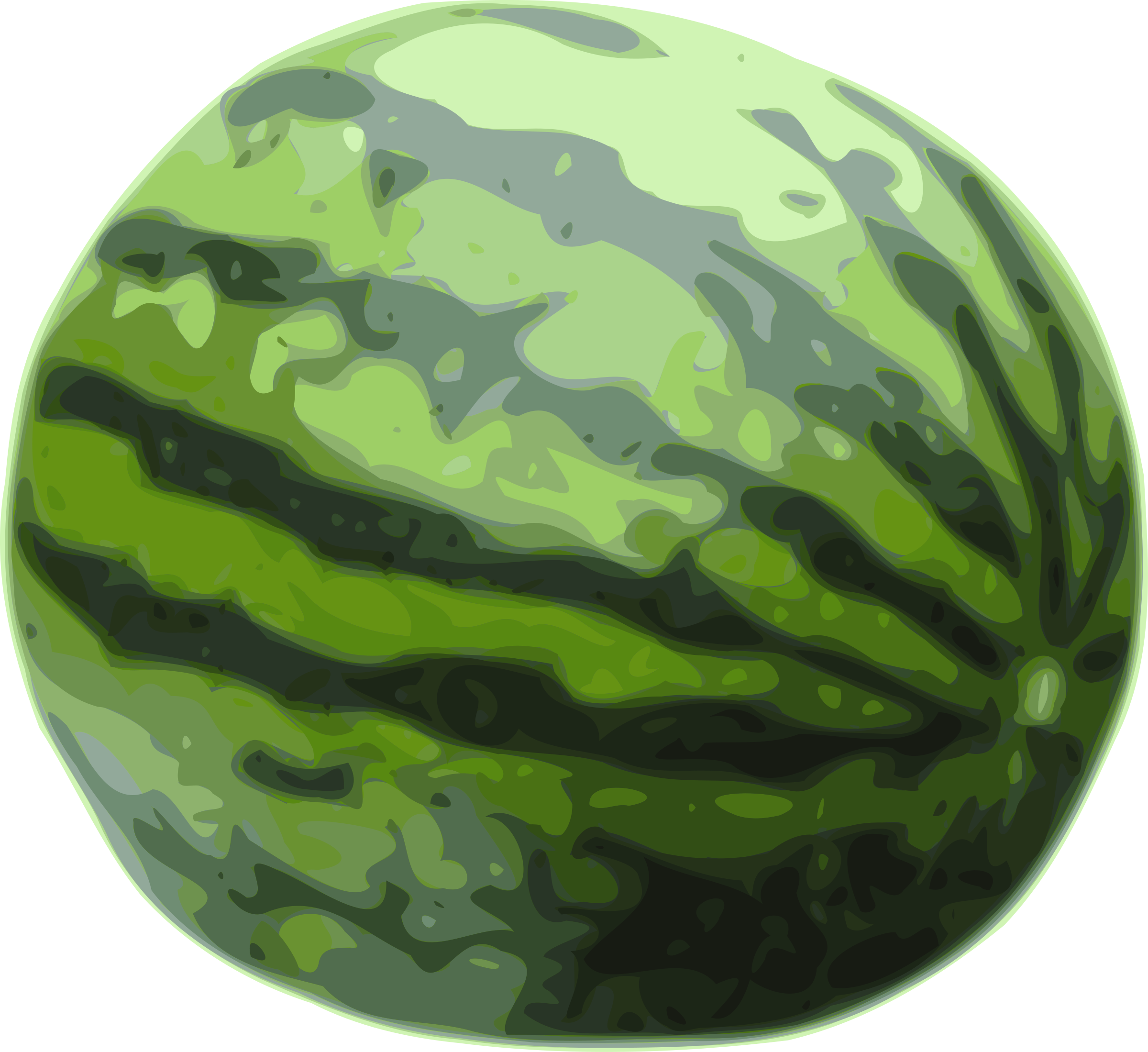 Skin clipart watermelon.