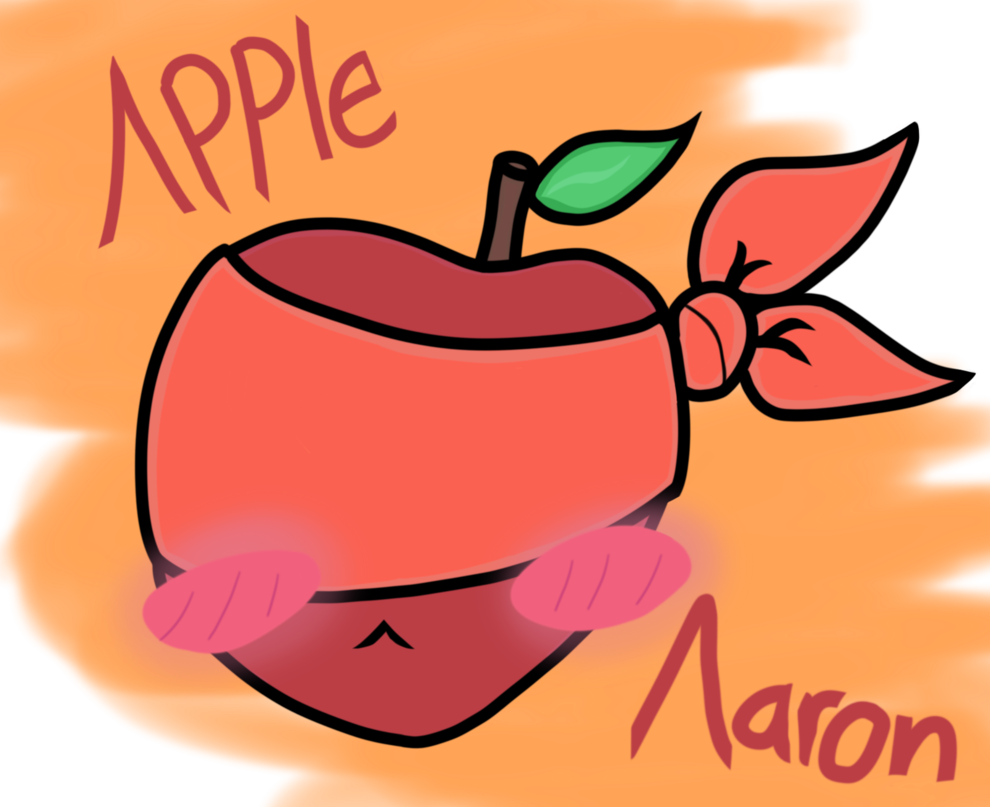 Apple aaron by dxc. Fruits clipart ati