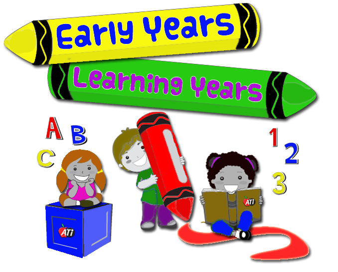 Early years learning seminar. Fruits clipart ati