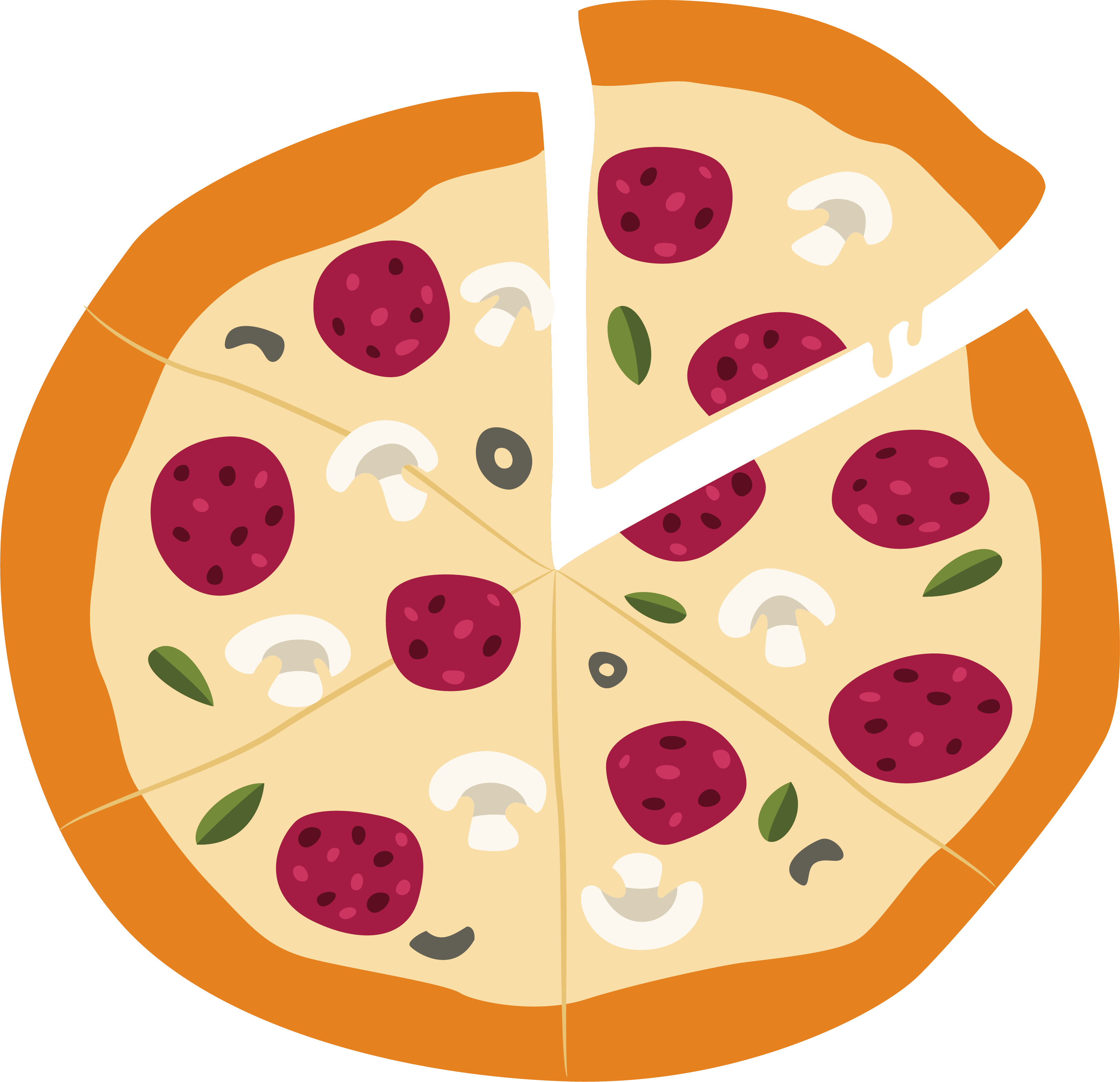 Pizza hut bacon hand. Fruits clipart cheese