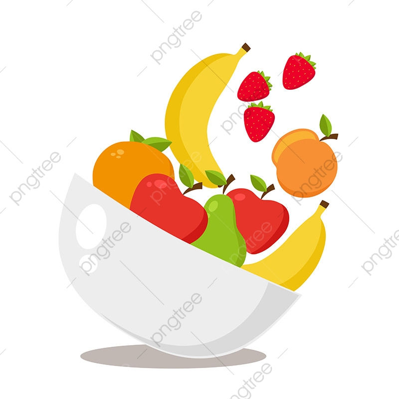 Fruits clipart fruit platter. Turn with falling food