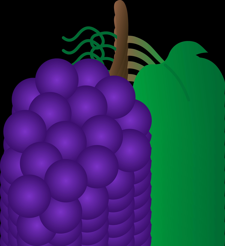 Cluster jesse tree pinterest. Grape clipart purple colour