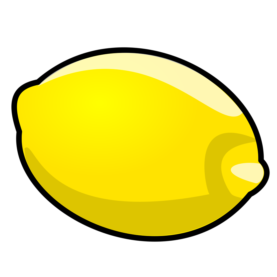 Lemons clipart lemon leaf. Free stock photo illustration