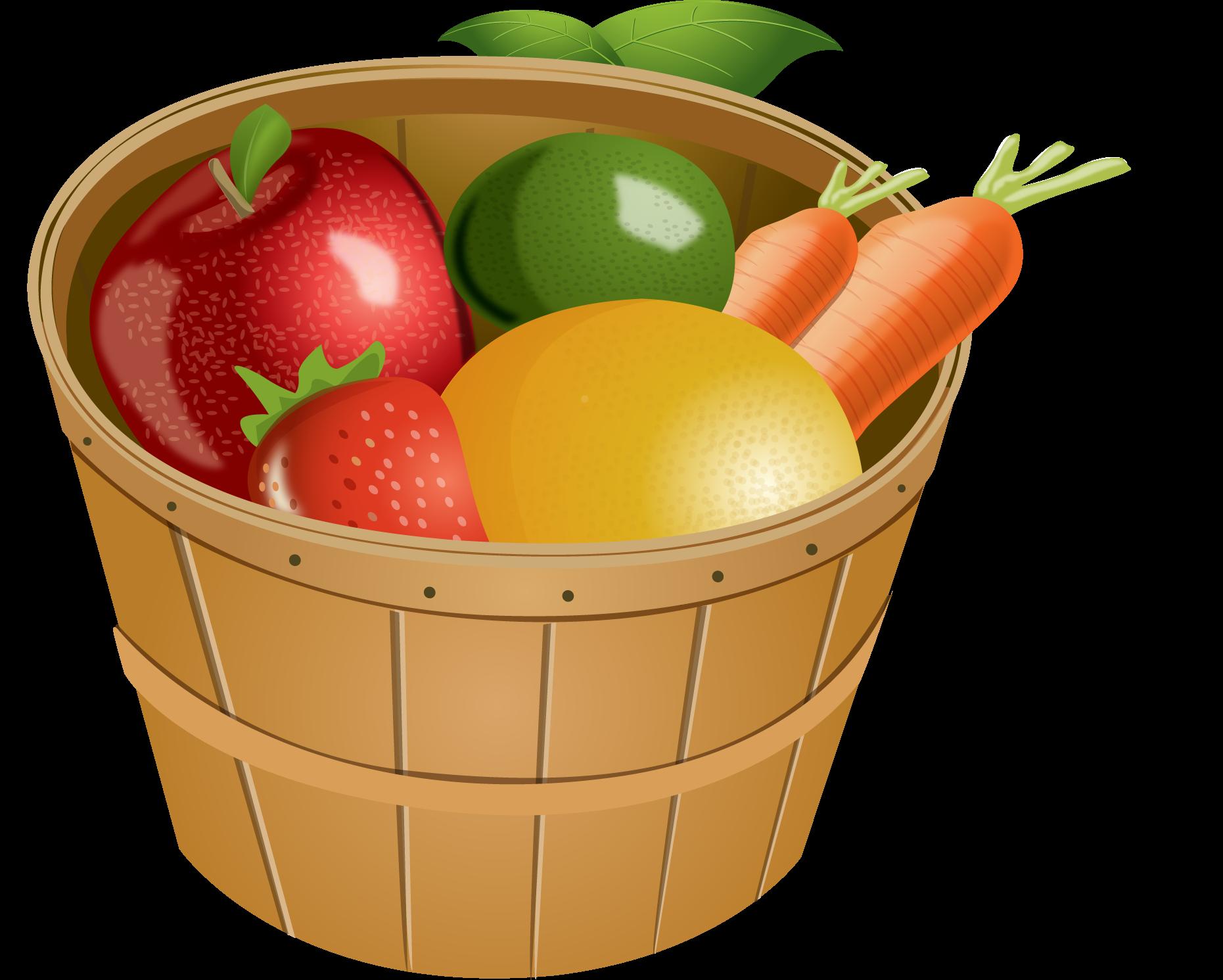 Lemons clipart basket mango. Of fruit clip art