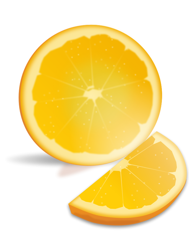 Fruit free stock photo. Fruits clipart orange