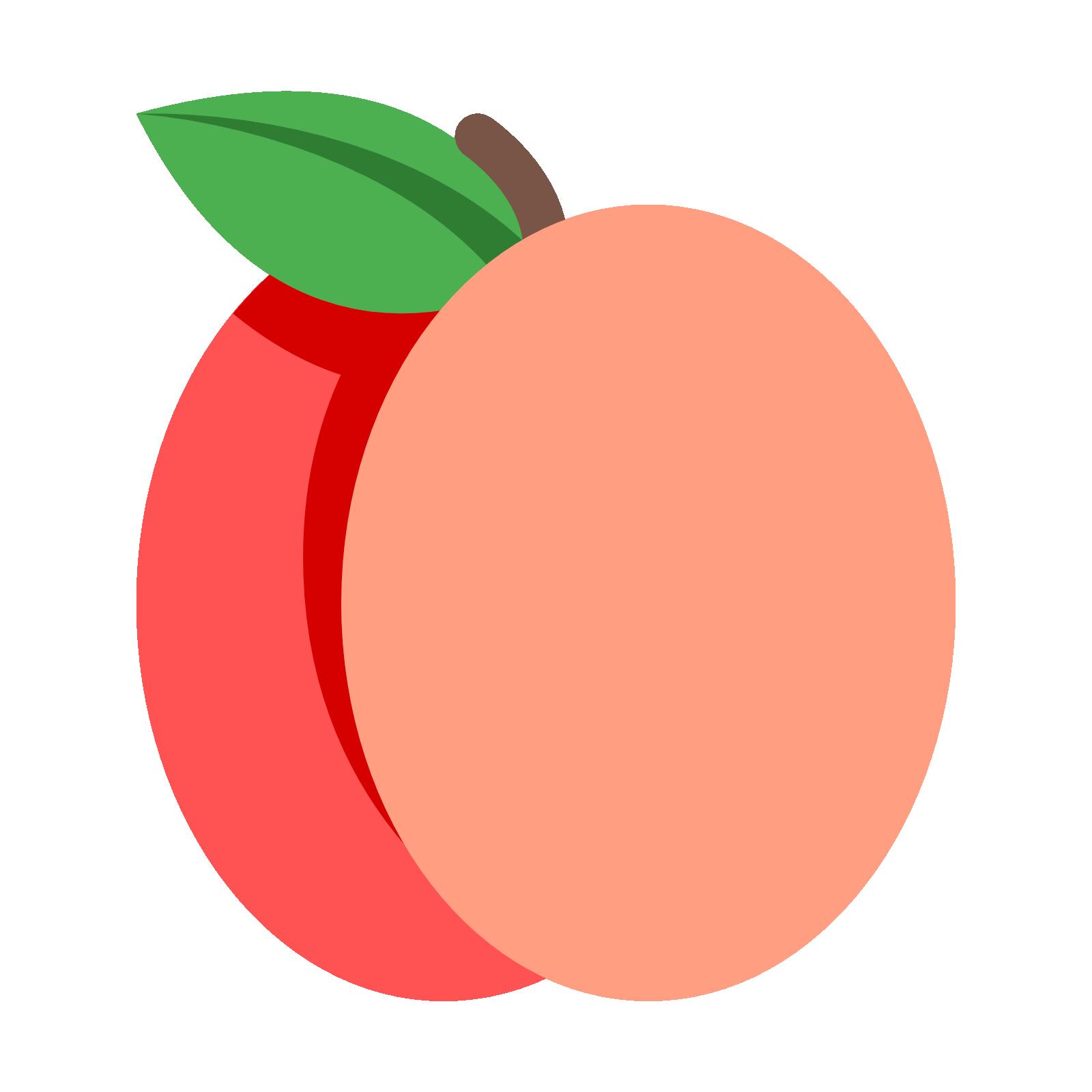 Fruits clipart peach. Computer icons fruit clip