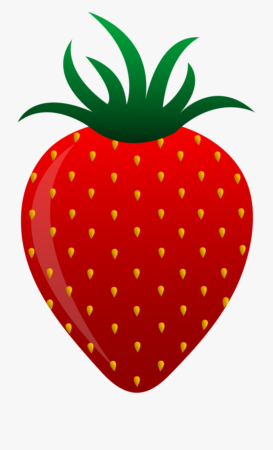 Strawberries clipart cartoon. Of fruits strawberry