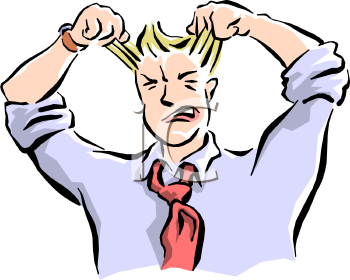 Teacher . Frustrated clipart