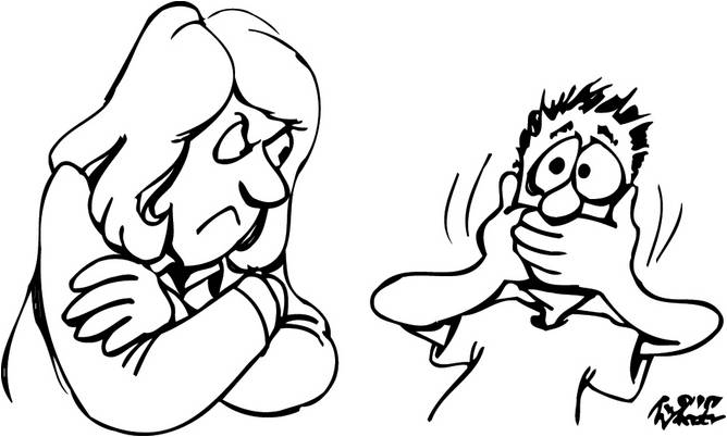 Free black and white. Pastor clipart mad parent