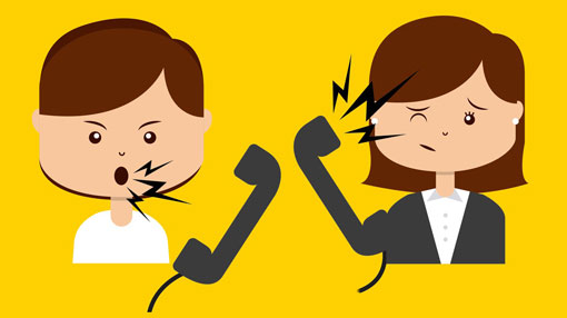 How to handle irate. Yelling clipart difficult customer