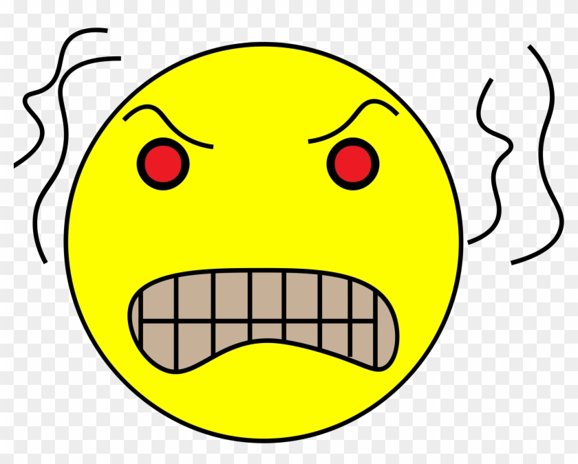 Angry emoji . Frustrated clipart frustration face