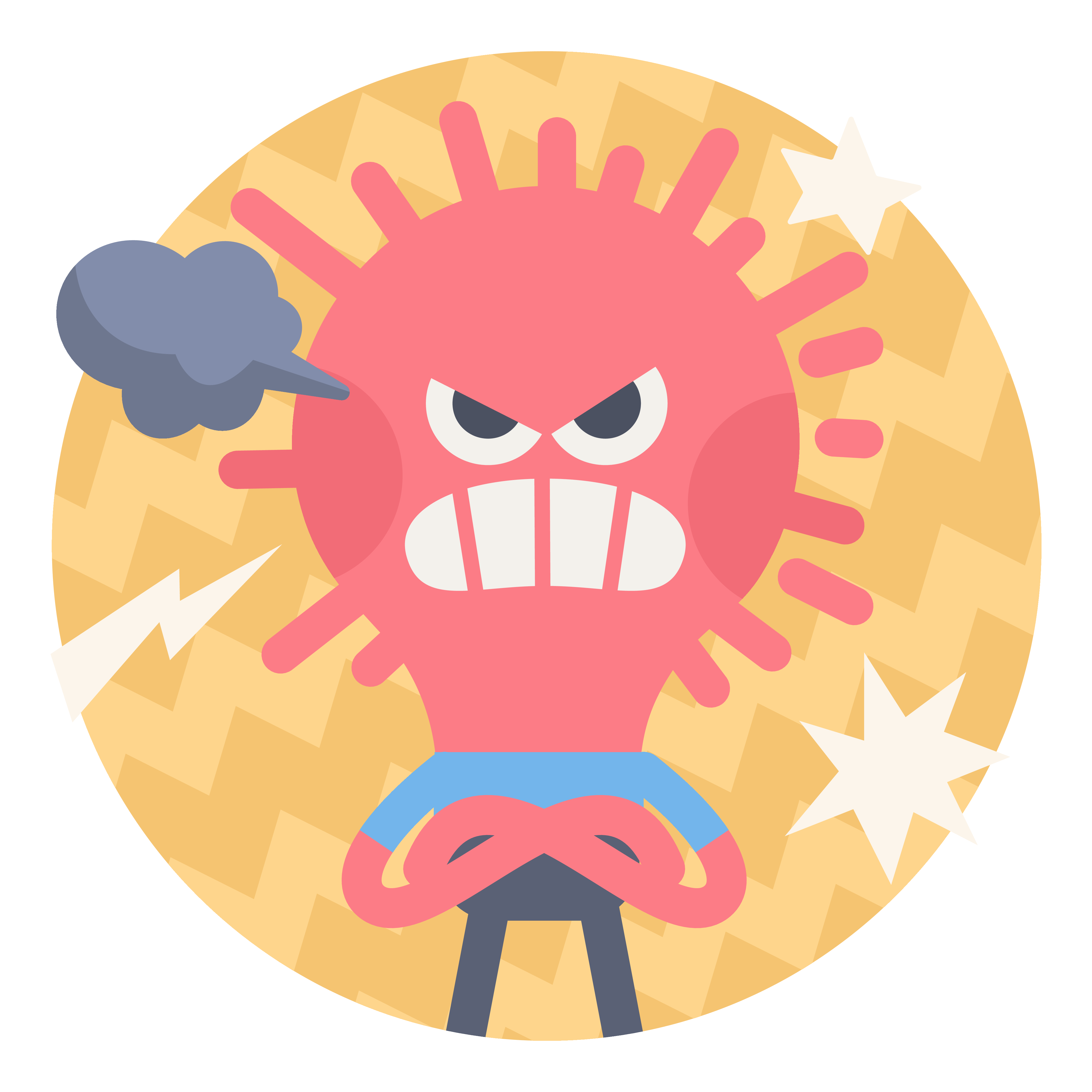 Frustrated clipart state mind. Meditation for anger headspace