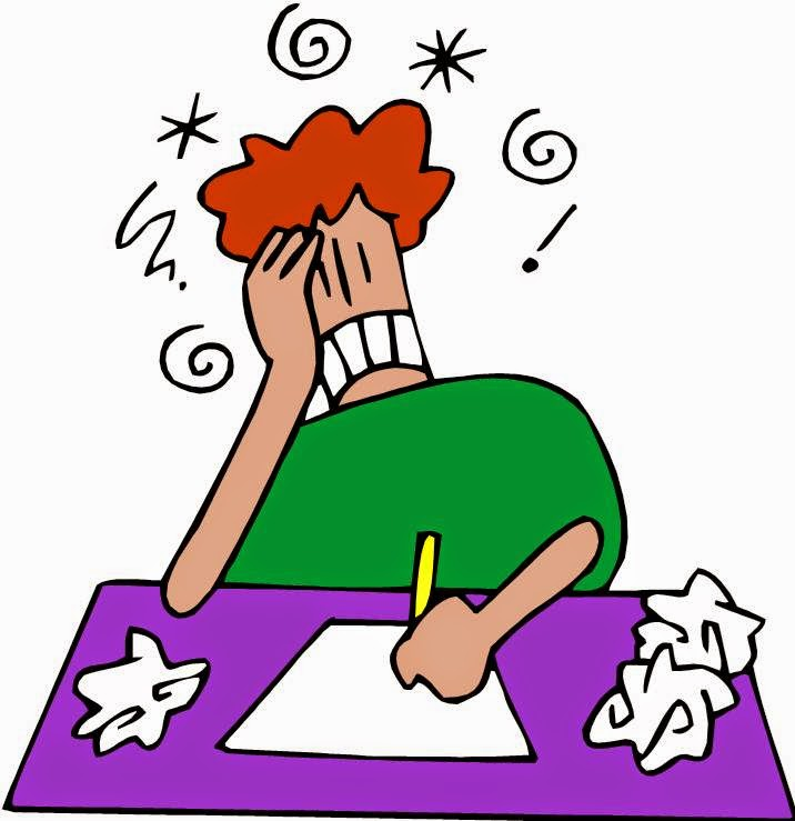 Writer clipart writer's block. Author free download best