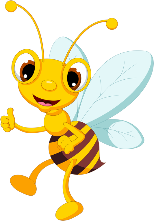 Number 1 clipart bee.  png bees clip