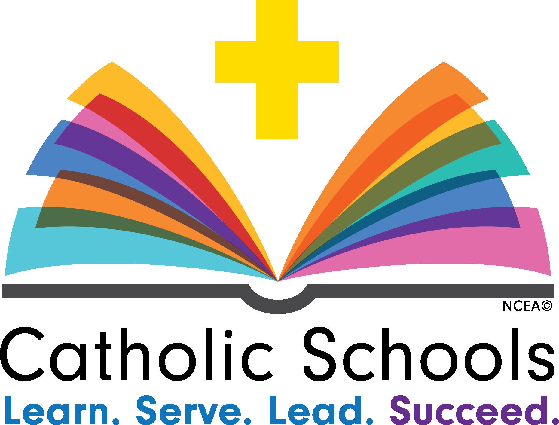 Future clipart guideline. Catholic schools week logos