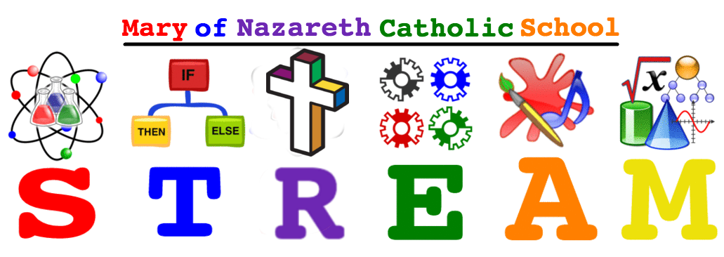 Mary of nazareth catholic. Proud clipart school evaluation