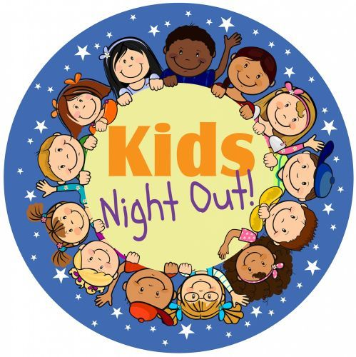 Fundraiser clipart cute. Kids night out clip