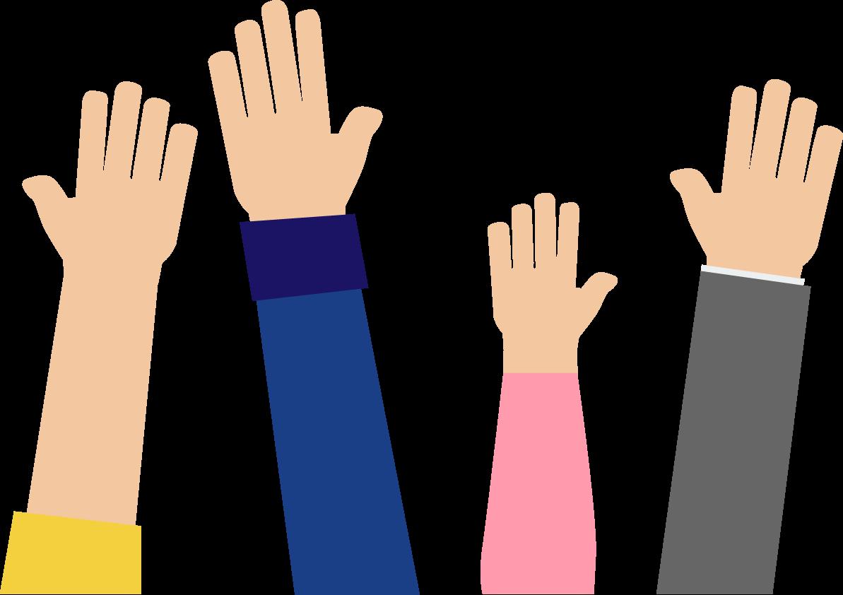 Pennvolvement hands. Fundraiser clipart lend a hand