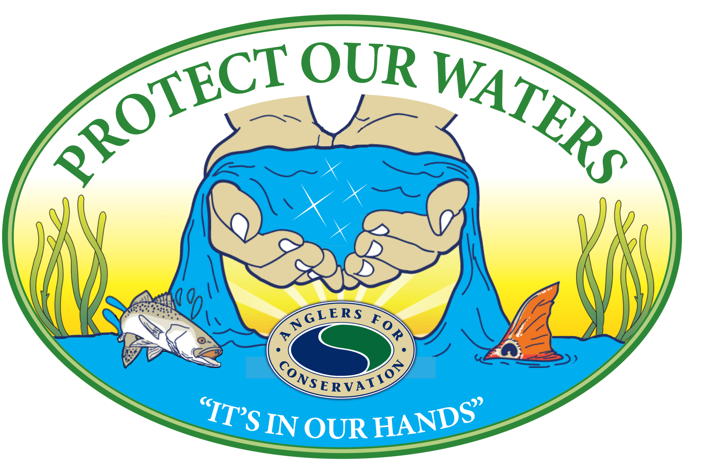 Fundraiser clipart mandatory. Protect our waters polynesian