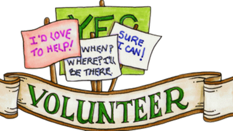 Seeking volunteers for the. Volunteering clipart fundraiser