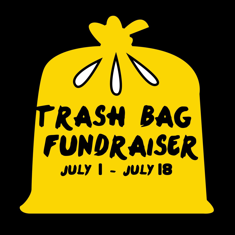 Trash bag sales kc. Fundraiser clipart moeny