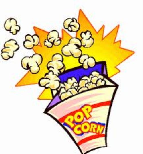 X free clip art. Fundraiser clipart popcorn