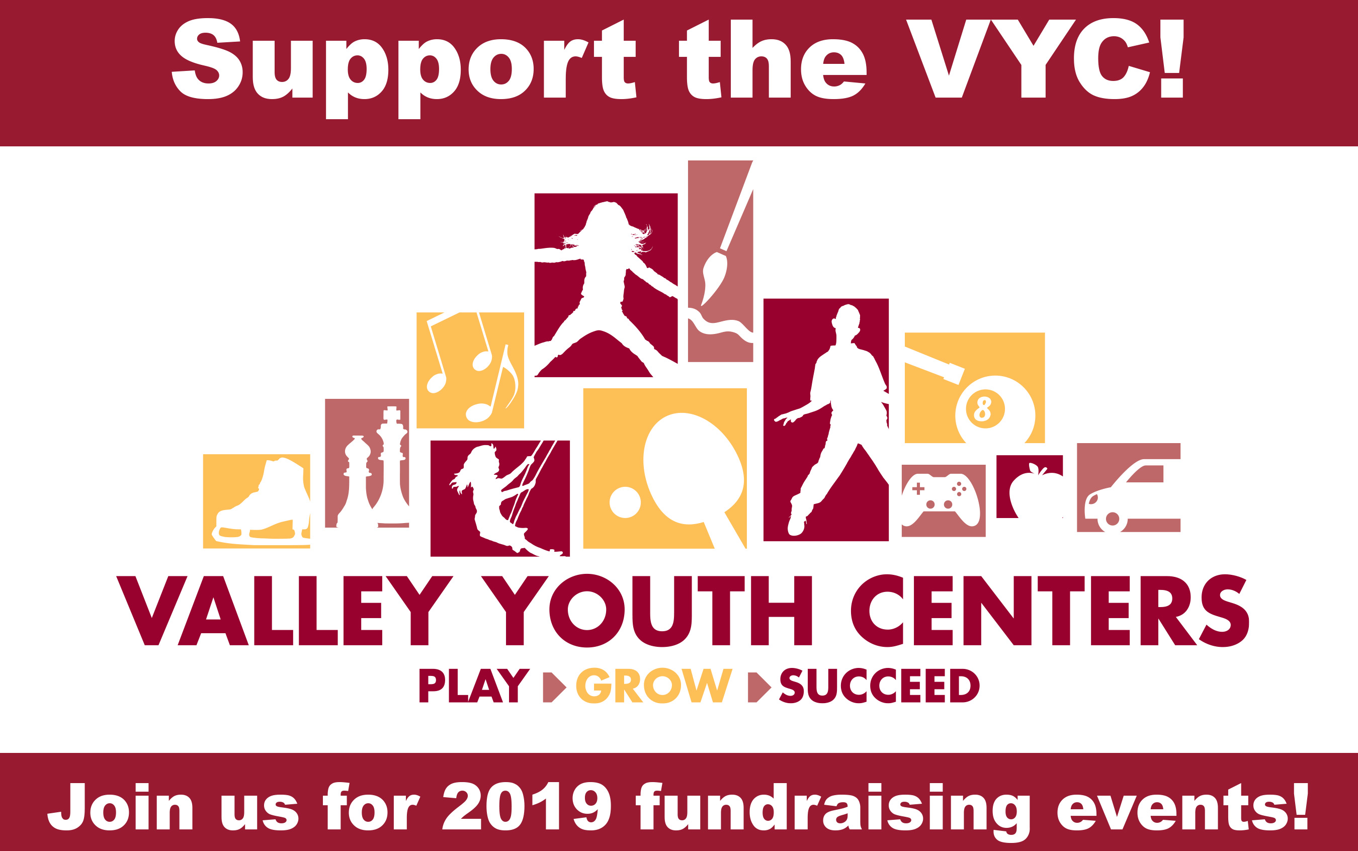 Fundraisers valley youth center. Fundraiser clipart save the date