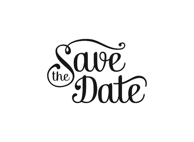 Free pictures clipartix . Fundraiser clipart save the date