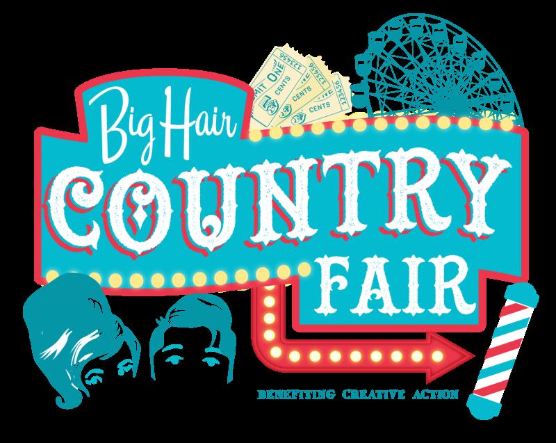 Fundraiser clipart vendor fair. Big hair county in