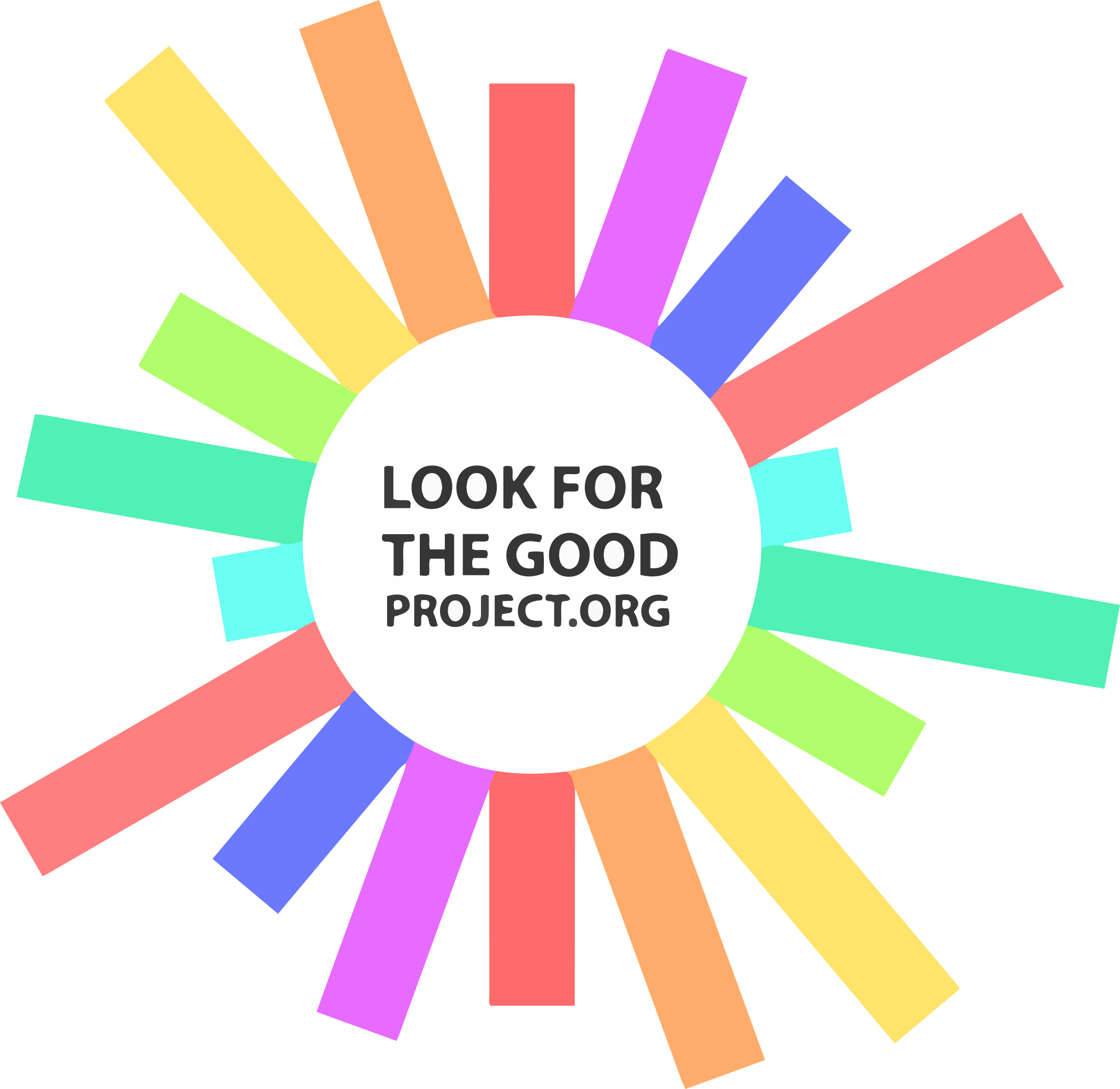 Look for the good. Fundraiser clipart works mercy