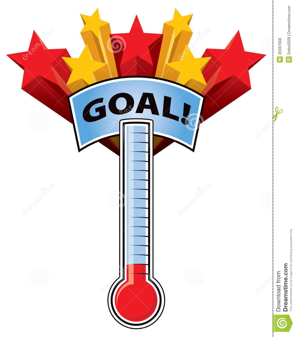 Fundraising clipart. Fundraiser goal