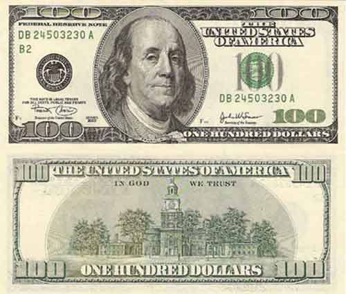 Fundraising clipart dollar notes. New u s currency
