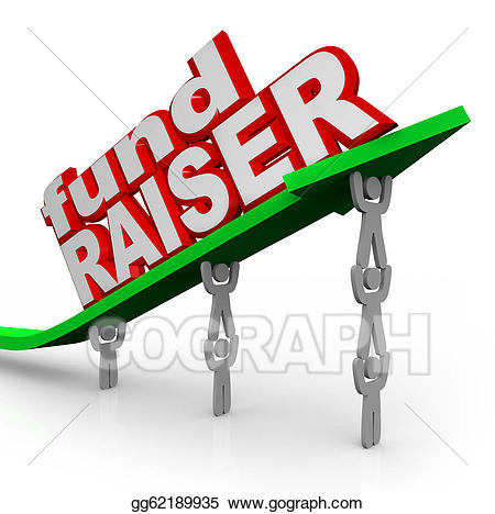 Stock illustration people lifting. Fundraising clipart fundraiser
