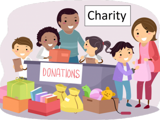 Indian kids donation . Fundraising clipart lunch money