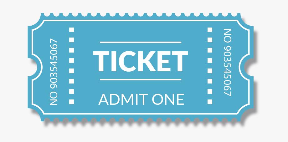Raffle clipart transparent background. Online ticket