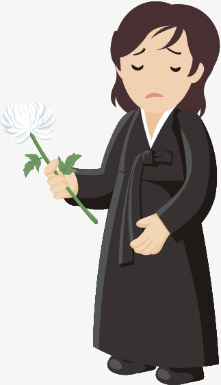 Characters png . Funeral clipart cartoon
