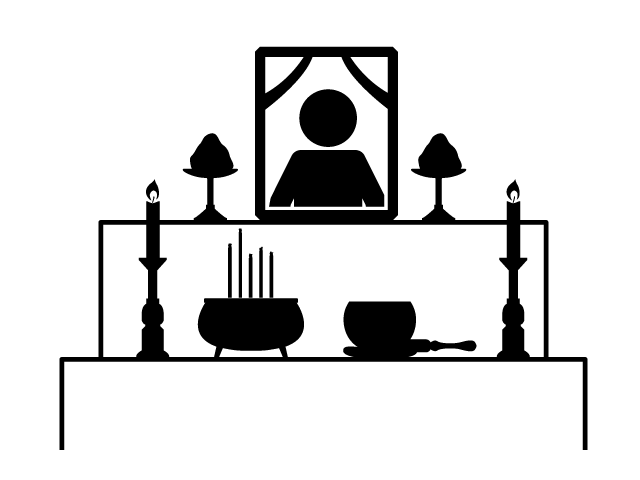 Altar heritage ceremony free. Funeral clipart coffin funeral