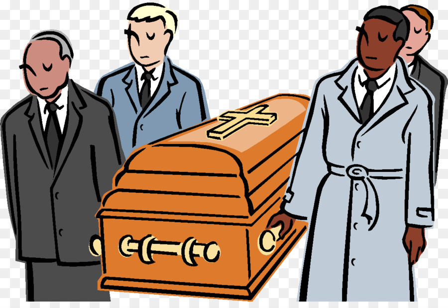 Funeral clipart coffin funeral. Cartoon line illustration