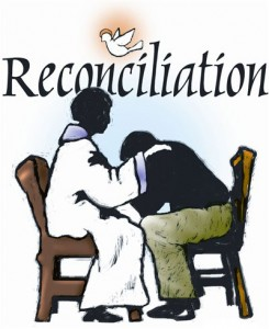 Funeral clipart first reconciliation. Our lady of victory
