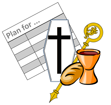 Liturgytools net catholic planning. Funeral clipart funeral mass